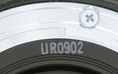 Код даты объектива Canon