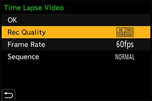 Замедленная съемка видео с 4K 60p / 50p